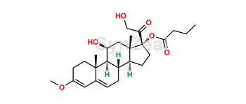 Picture of Hydrocortisone 17-Butyrate 3-Enol Methyl Ether