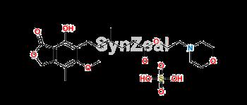 Picture of Mycophenolate Mofetil Sulfate salt