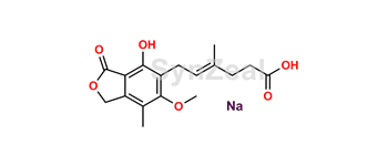Picture of Mycophenolate Mofetil EP Impurity F Sodium salt