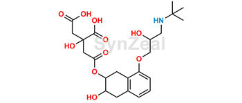 Picture of Nadolol Citrate Ester