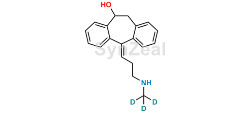Picture of (E)-10-Hydroxy-Nortriptyline-D3