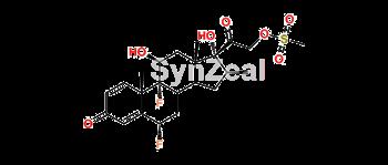 Picture of Halobetasol 21-Mesylate diflorasone
