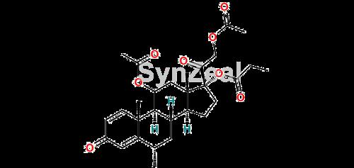 Picture of Methylprednisolone-17-propionate-11, 21 diacetate