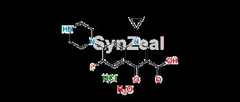 Picture of Ciprofloxacin Hydrochloride Monohydrate