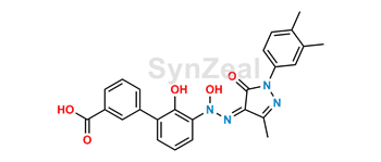 Picture of Eltrombopag N-Oxide Impurity (Z-Isomer)