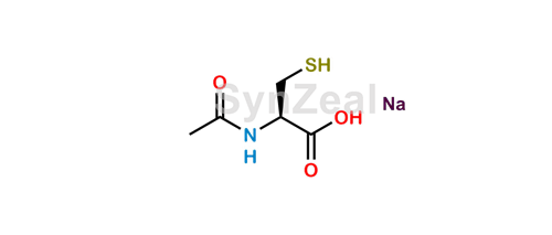 Picture of Acetylcysteine Sodium