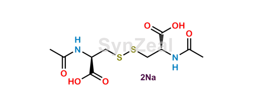 Picture of Acetylcysteine EP Impurity C Disodium salt