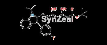 Picture of Fluvastatin Z isomer tert-butyl Ester