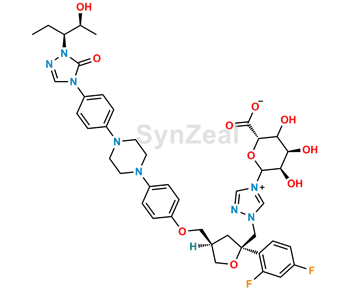Picture of Posaconazole N-β-D-Glucuronide